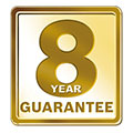 Worcester Bosch 8 Year Guarantee