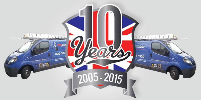 My Plumber 10 Year Anniversary