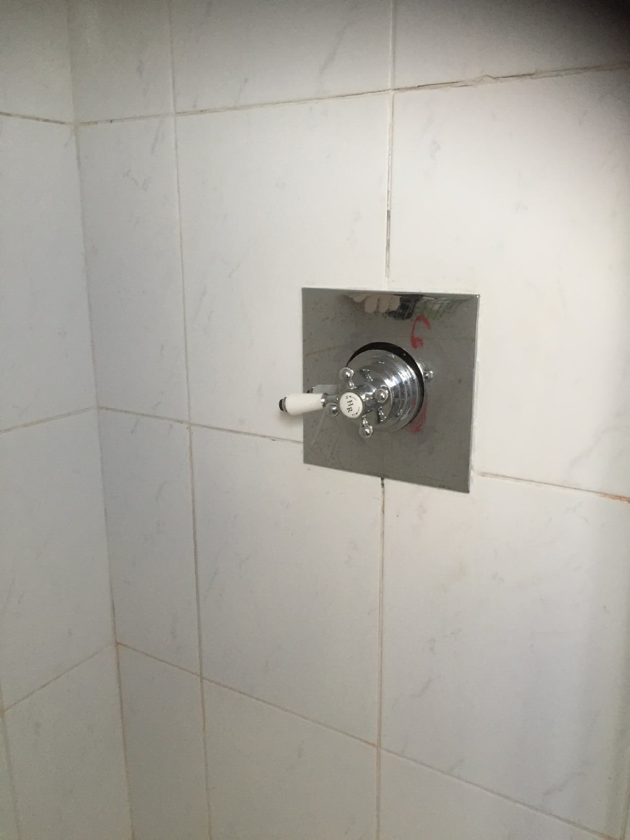 Shower replacement process