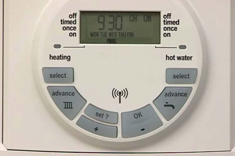 Boiler Control Timer