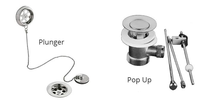 Bath Tub Plug Types