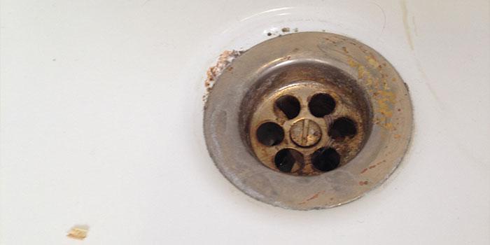 bathroom drain