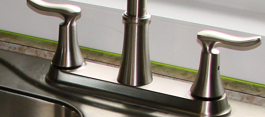 How to fit a new kitchen mixer tap or replace an existing kitchen tap
