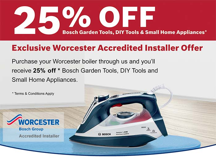 25% OFF Bosch Products