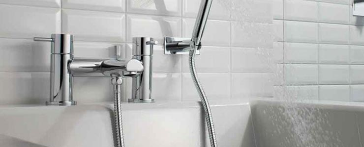 Crosswater Kai Lever Bath and Shower Mixer Tap