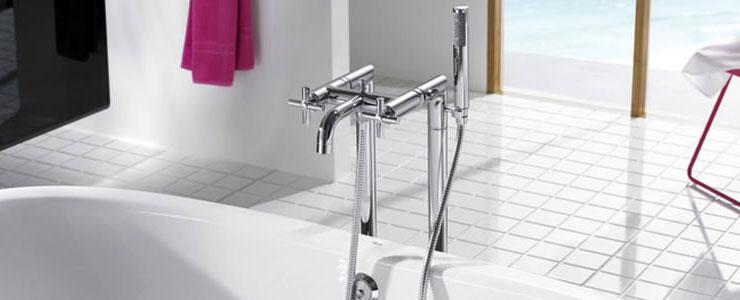 Roca Floor Standing Bath Shower Mixer Tap