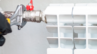 Central heating radiator services